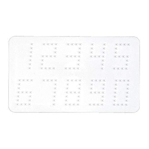 Hama 273 Bügelperlen Gr.P. Zahlen, Schreibwaren, weiß