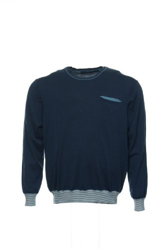 Perry Ellis Blue Crew Neck Sweater, Size 2XLarge