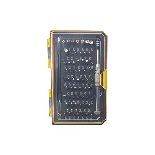Juego de destornilladores de precisión de 62 piezas Kit de herramientas de reparación multifuncional para iPhone,...