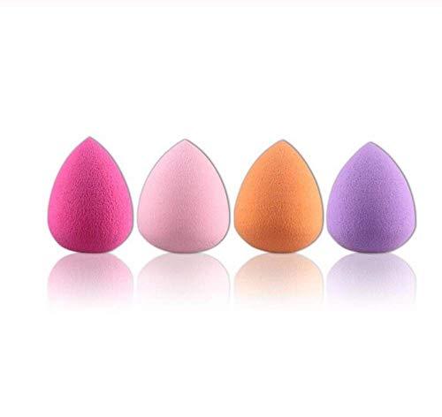 KUSAWE Éponge de maquillage 4pcs Fondation Puff Multi Eponges De Forme Femmes Maquillage Soins De La Peau A