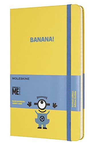 Moleskine Notizbuch Minions, Large, A5, Liniert, Hard Cover, Sonnenblumen Gelb