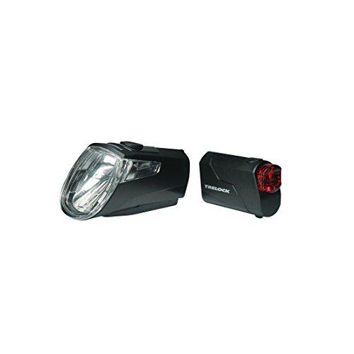 Akku-LED-Leuchten Trelock I-go Eco LS 360/ 720 mit Halter, schwarz (1 Paar)