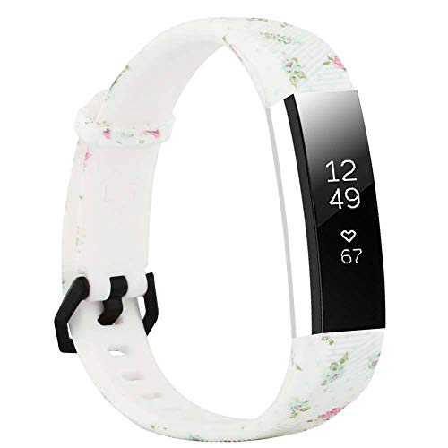 Molitececool Compatible para Fitbit Alta Correa & Alta HR Correa,Soft Deportes Pulseras Reemplazo Band Compatible para Fitbit Alta &Fitbit Alta HR