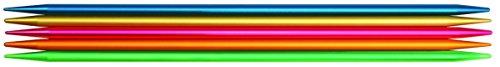Addi Nadelspiel, Aluminium, Mehrfarbig, 2,75mm/15cm