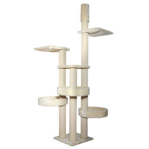 Kattens No. 1 - Kratzbaum Jumbo - Deckenspanner - creme