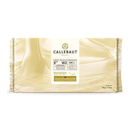 Callebaut White Baking Chocolate - 11 lb (11 pound) (11 Lbs)