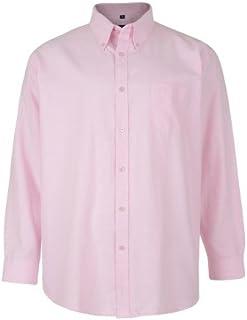 Kam Jeans Mens Long Sleeve Oxford Shirt, Work, Formal, Big and Tall, King Size, 2XL, 3XL, 4XL, 5XL, 6XL, 7XL, 8XL