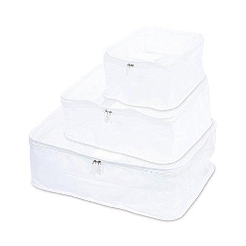 nahe/ネーエ トラベルパッキングバッグ 3サイズパック【ホワイト】 GB238-WH