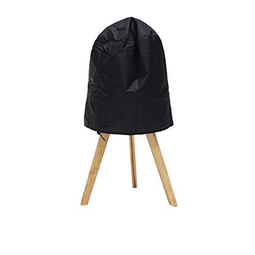 WENAN Grillbezug Black BBQ Grill-Abdeckung passt für den Stand-up-Holzkohle-Grill, der den BBQ-Grillschutz im Freien serviert Grill