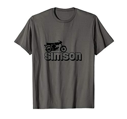 Simson S-51 Star Vintage Moped Zwei Takt Geschenkidee T-Shirt