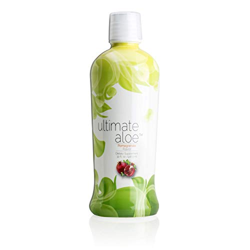 Ultimate Aloe, Pomegranate Flavor, Healthy Digestive Tract, Strong Immune System, Nutrient Absorption, Promotes Normal Healing, Market America (16 Servings)