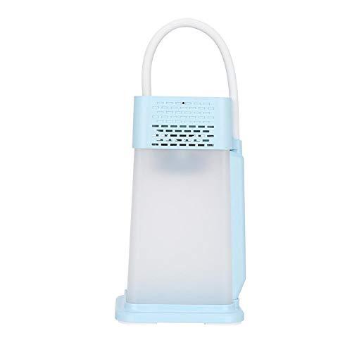ASHATA Bluetooth luidspreker LED bureaulamp, multifunctioneel nachtlampje Bluetooth 5.0 luidspreker bureaulamp ondersteuning SOS-flits voor mobiele telefoons/tablets en het beste elektronisch cadeau voor