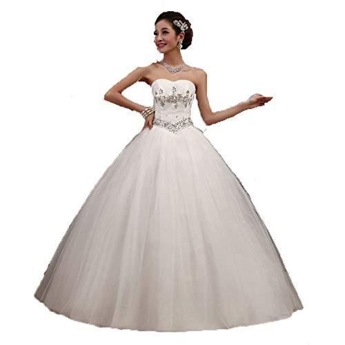 LiChaoWen bruidsjurk bruidsjurk formele avondjurk De golvende balbruidsjurk jurk corset tulerock-party