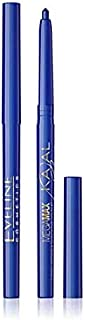 EVELINE Cosmetics Kajal Mega Max eyeliner Pencil , BLUE