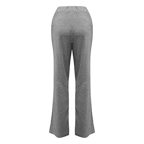 yayay Pantalones de yoga, pantalones casuales para mujer, pantalones de yoga, pantalones de secado rápido, pantalones de pierna ancha