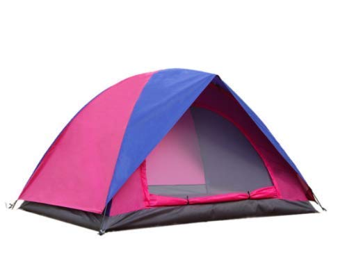 QIBIN Outdoor Waterproof Tent, Double tent Outdoor camping 2 people double shade tent camping beach tent,For Beach Camping Hiking Fishing for Beach Camping Hiking Fishing