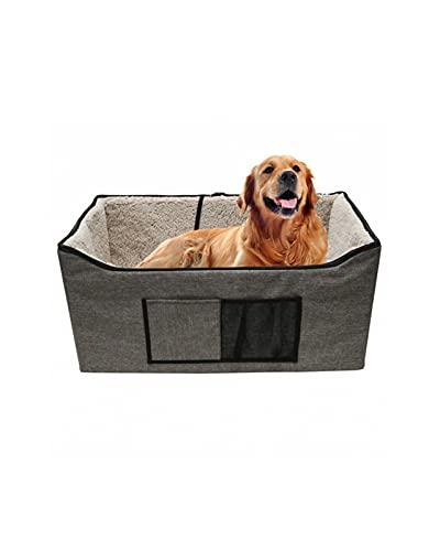 RKRXDH Funda para Coche para Perros a Prueba de Agua 74 X 39 X 36CM Asiento Elevador de Equipo Grande para Mascotas para Perros/Gatos Forro de Cambio de Comodidad