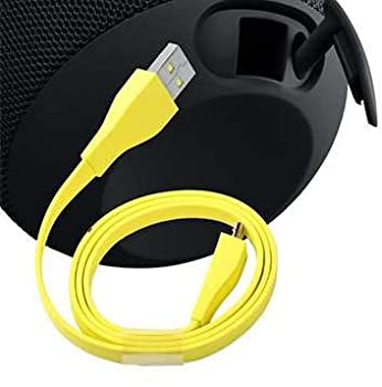 IENZA Replacement USB Charging Cable Cord Wire for Ultimate Ears UE Wonderboom UE Boom and UE Roll Wireless Bluetooth Speakers