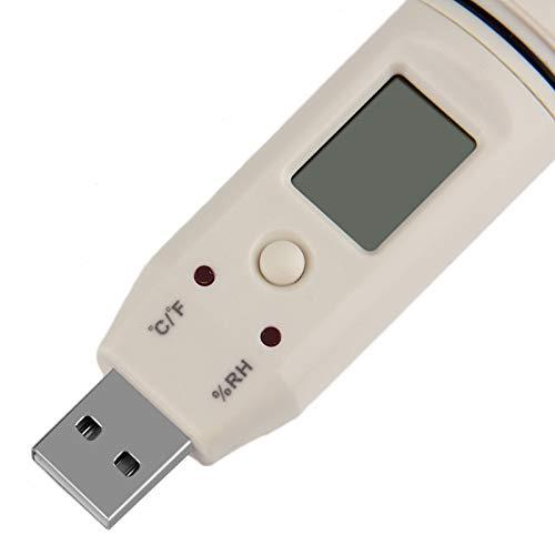 perfk Temperatura Dati USB Alta Precisione 32000 Punti Registratori Multiuso