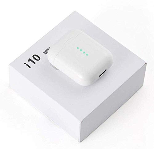 TIan I10 TWS Bluetooth 5.0 Cuffie Pop-Up Con la funzione touch Cuffie Auricolari sportivi Supporta la ricarica wireless