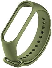 JUMP START 4 Bracelet, Silicone Sport Replacement Strap Wristband Accessories Colorful Band for Xiaomi Mi Band 3/Mi Band (Limited Edition Color Military Green) Not for Mi1/2