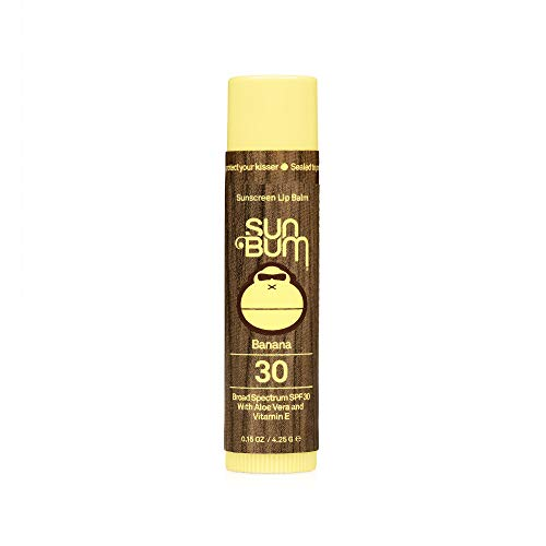 SUN BUM SPF30 Lip Balm Banana (US Import)