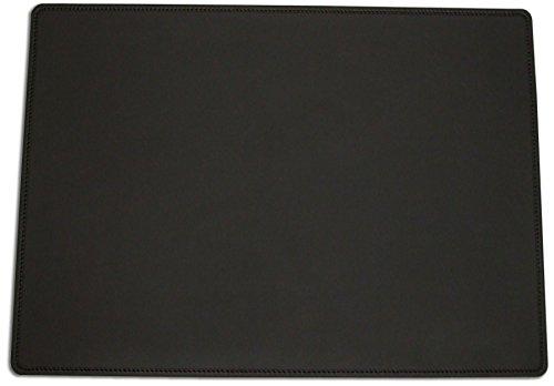 Team Beust Schreibunterlage Schreibtischunterlage echt Leder schwarz 70 x 50 cm Rindnappaleder