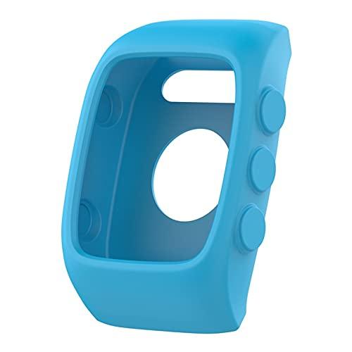 XXY Cubierta De Silicona para Polar M430 / Polar M400 Smart Watch Running Sport Screen Case Reemplazo Protector Accesorios Accesorios (Color : Blue)