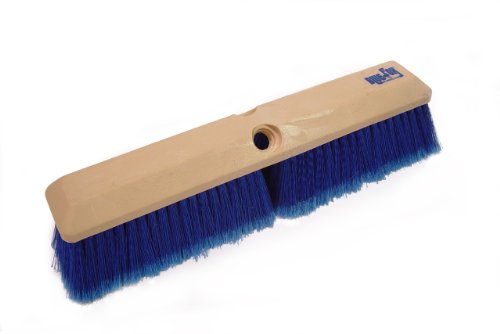 Bon 84-962 Blue Fox Truck Wash and Concrete Finish Brush, 24-Inch Length by 2-1/2-Inch Trim