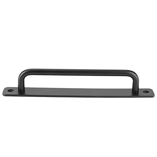 Duokon Manija de Puerta corrediza Elegante manija de Puerta de Granero corrediza Aleación de Aluminio Tirador Suave para guardarropas...