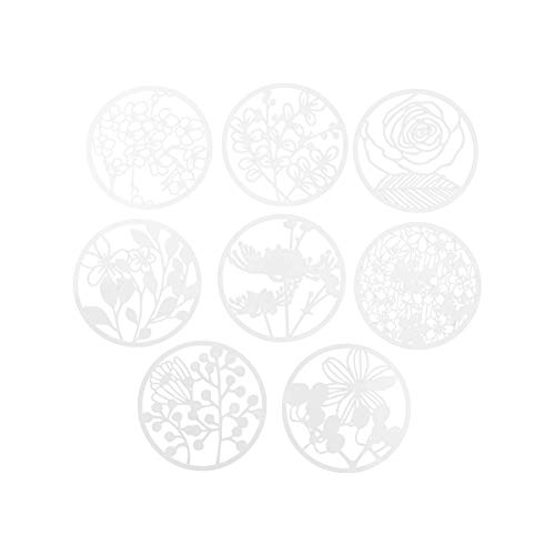 Healifty 1 Juego de Plantillas de Flores Plantilla de Patrón de Flores Reutilizable para Diy Scrapbooking Pintura Diario Dibujo Cuaderno Diario Decoración Del Hogar