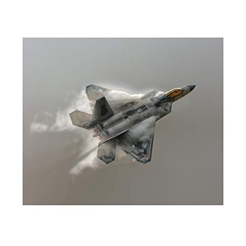United States Air Force F22A-Fighter Jet Poster Print -10 x 8