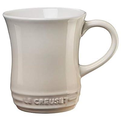Le Creuset Stoneware Tea Mug, 14 oz., Meringue