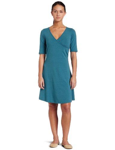 Prana Women's Nadia Dress,Aqua,Large