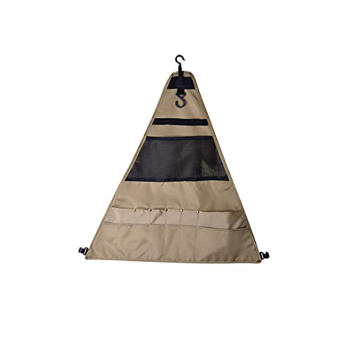MKVRS Tragbare Grillgeschirr Aufbewahrungstasche, Stoff Camping Ausrüstung Bestecktasche Multifunktionale Hängeorganizer Aufbewahrung