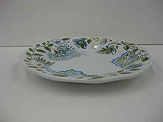 Longaberger Pottery Stoneware Tray Plate Earth & Sky Blue White New Dishwasher