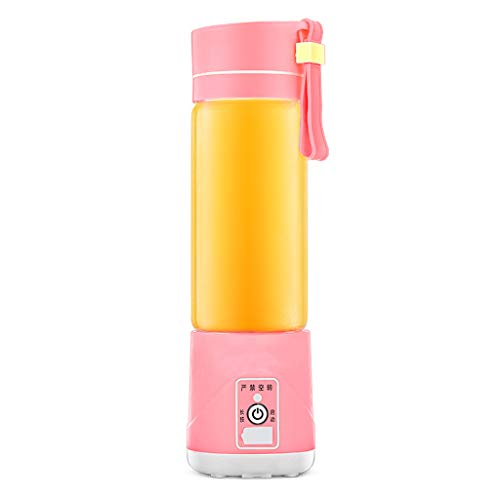 JAD@ Electric Portable Juice Cup Household Mini Charging Student Portable Juicer Glass Juice Machine Can Make Juice Milkshake Food Supplement Easy to Carry