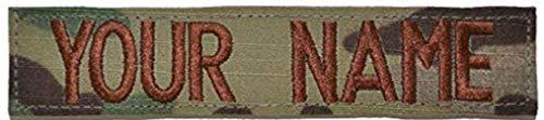 Custom 1 Piece USAF OCP/Scorpion Name Tape with Hook Fastener
