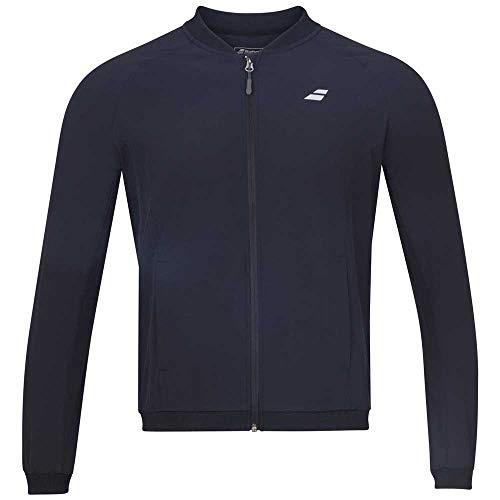 Babolat Play Jacket - Chaqueta con cremallera para mujer, color negro, color Negro , tamaño medium