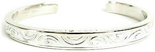 [ララクリスティー]LARA Christie セイントグラスバングル ホワイト レディース キュービックジルコニア シルバー925 B3036-W