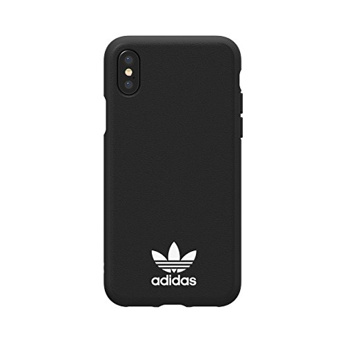 adidas Originals Moulded Case Handyhülle für Apple iPhone X - Schwarz/Weiß Black/White