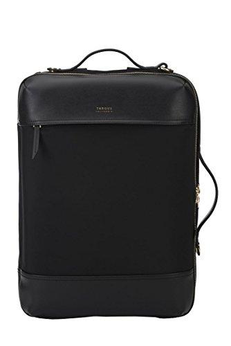 Targus Sac à dos Newport 12 L, Sac pour ordinateur portable jusqu'à 15  pouces avec compartiment dédié, Cartable convertible en besace – Noir, TSB947GL