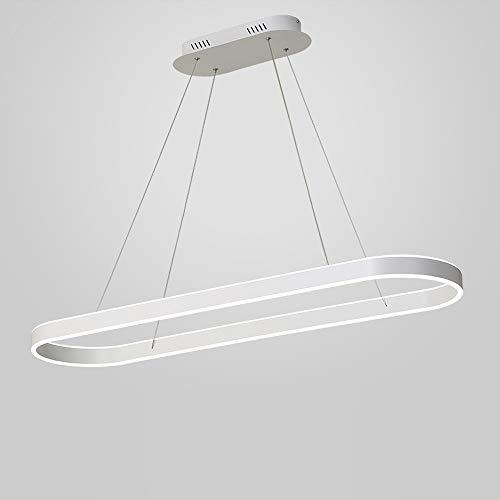 Wohnzimmer Groß Esstisch Pendelleuchte LED Ring Hängelampe Dimmbare Fernbedienung Esszimmer Hängleuchte Büro Konferenztisch Decke Lampe Modern...