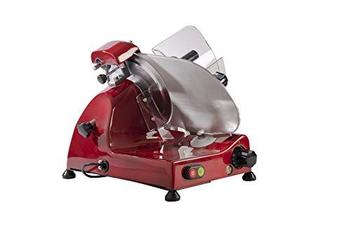 FAC - Affettatrice Elettrica Curvy Line C220 - Lama 22cm - Affilatoio Staccato (Rosso)