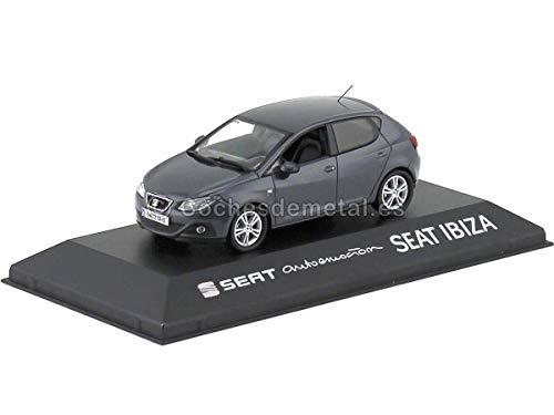 Ixo Models 2017 Seat Ibiza MK. IV 5 Door Track Gray 1:43 Seat Autoemocion 26