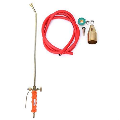 DAUERHAFT Válvula de fundición a presión de precisión, Pistola de Llama de Gas líquido, lanzallamas para Barbacoa doméstica, Interruptor único, para Barbacoa doméstica para Fuego(Double Switch)