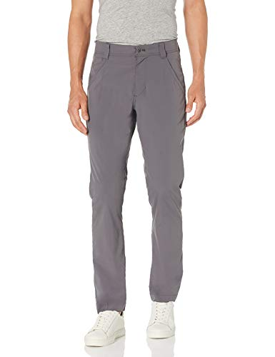 Amazon Essentials Men's Standard Slim-Fit Rugged 5-Pocket Stretch Lightweight Outdoor Pant, Charcoal, 42W x 32L