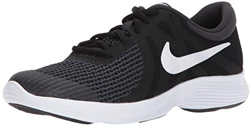 Nike Revolution 4 (GS), Zapatillas de Running Unisex Niños, Negro (Black/White-Anthracite 006), 39 EU