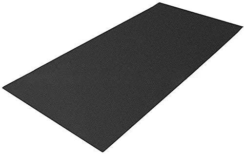 N / G Alfombra de Herramientas gimnásticas para Tapis roulant roulant Desgaste para Pisos y alfombras Mat Fitness Mat Fitness Mat ELIPTICAL MAT-150 * 75 * 0,4 cm