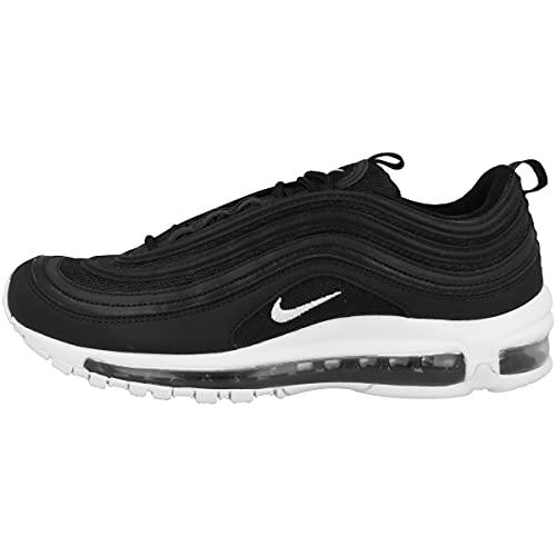 Nike Air Max 97, Scarpe da Corsa Uomo, Black/White, 42.5 EU